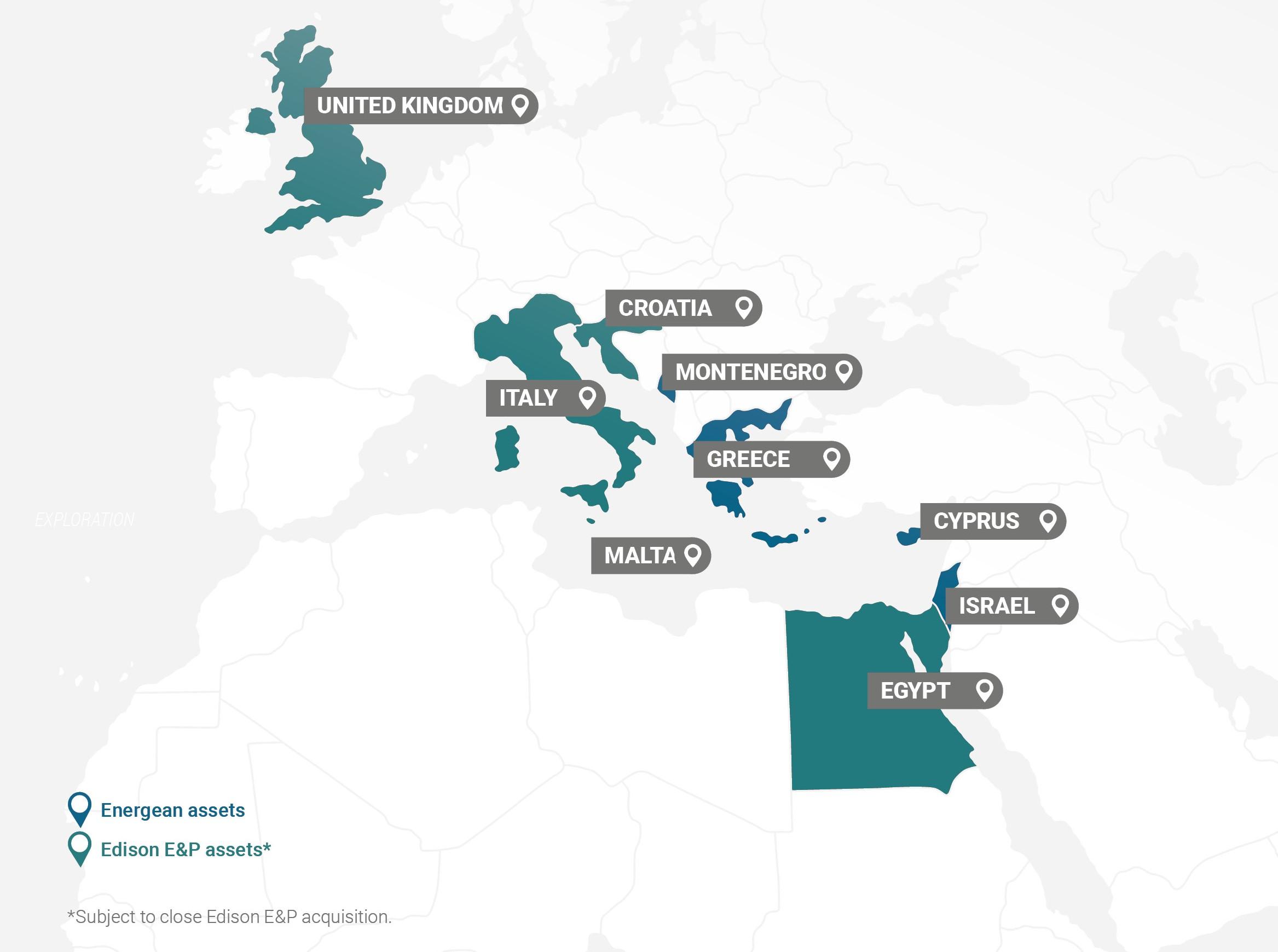 Energean: Αναδιάρθρωση εξαγοράς της Edison E&P και επέκταση στη Βόρεια Θάλασσα