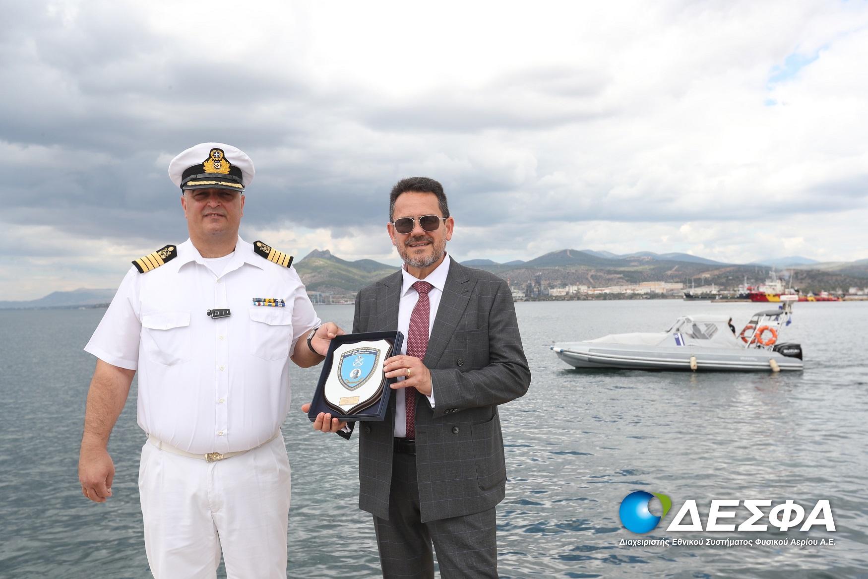O ΔΕΣΦΑ συνεχίζει να υποστηρίζει το έργο του Κεντρικού Λιμεναρχείου Ελευσίνας
