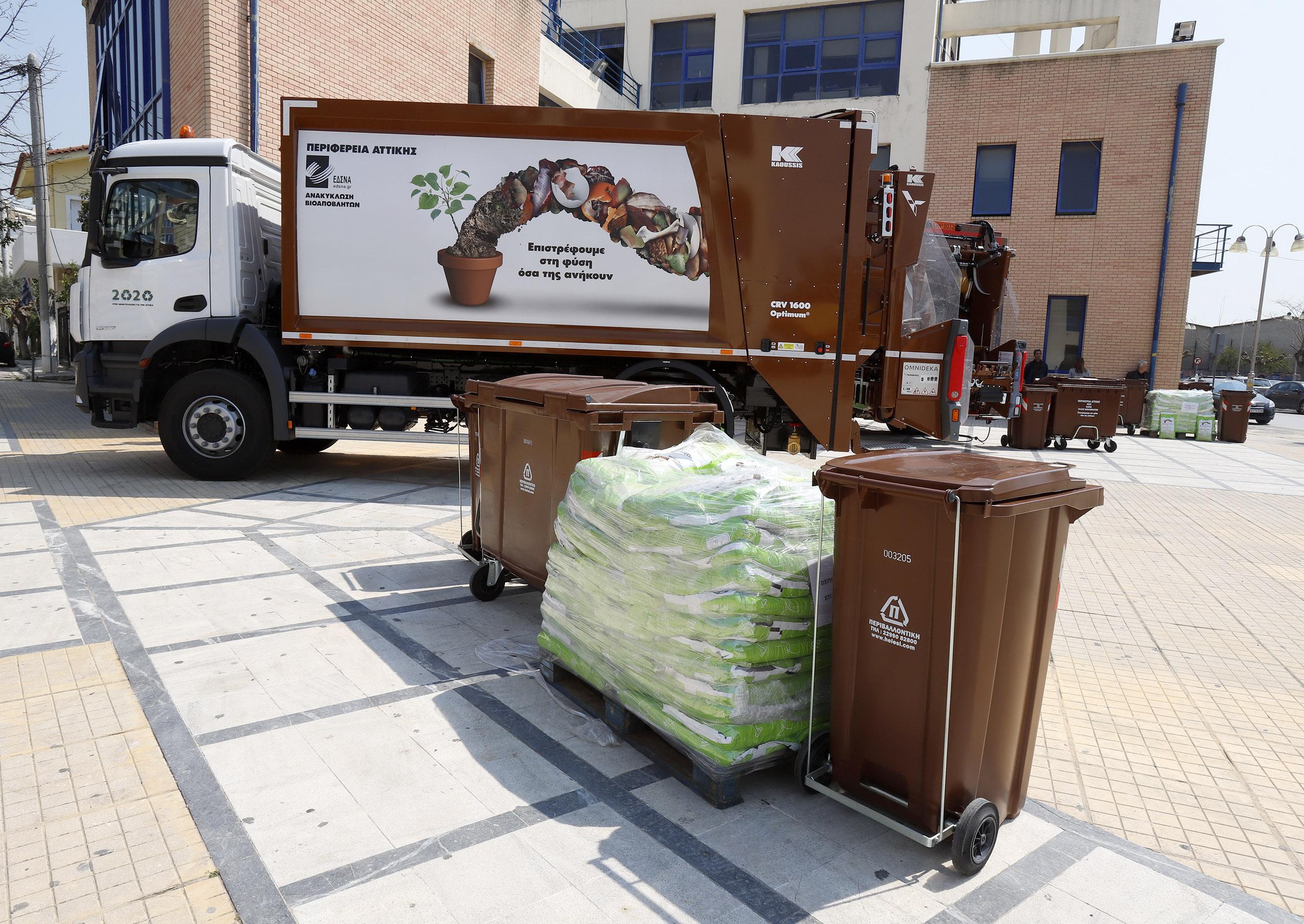 Κ. Χατζηδάκης:  Δίκτυο καφέ κάδων και 17 νέες μονάδες επεξεργασίας απορριμμάτων για να βελτιώσουμε αισθητά την ανακύκλωση