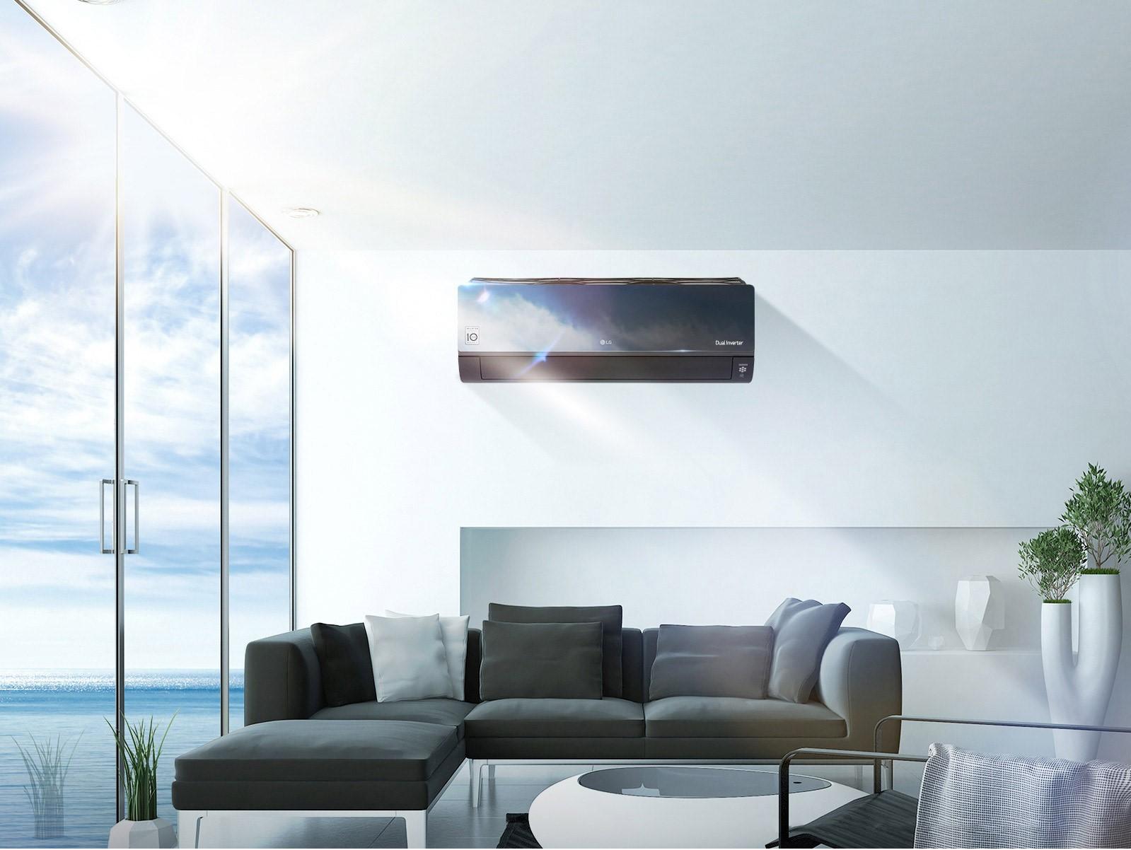 H LG παρουσιάζει τα νέα μοντέλα κλιματιστικών Gallery και Mirror της σειράς ARTCOOL