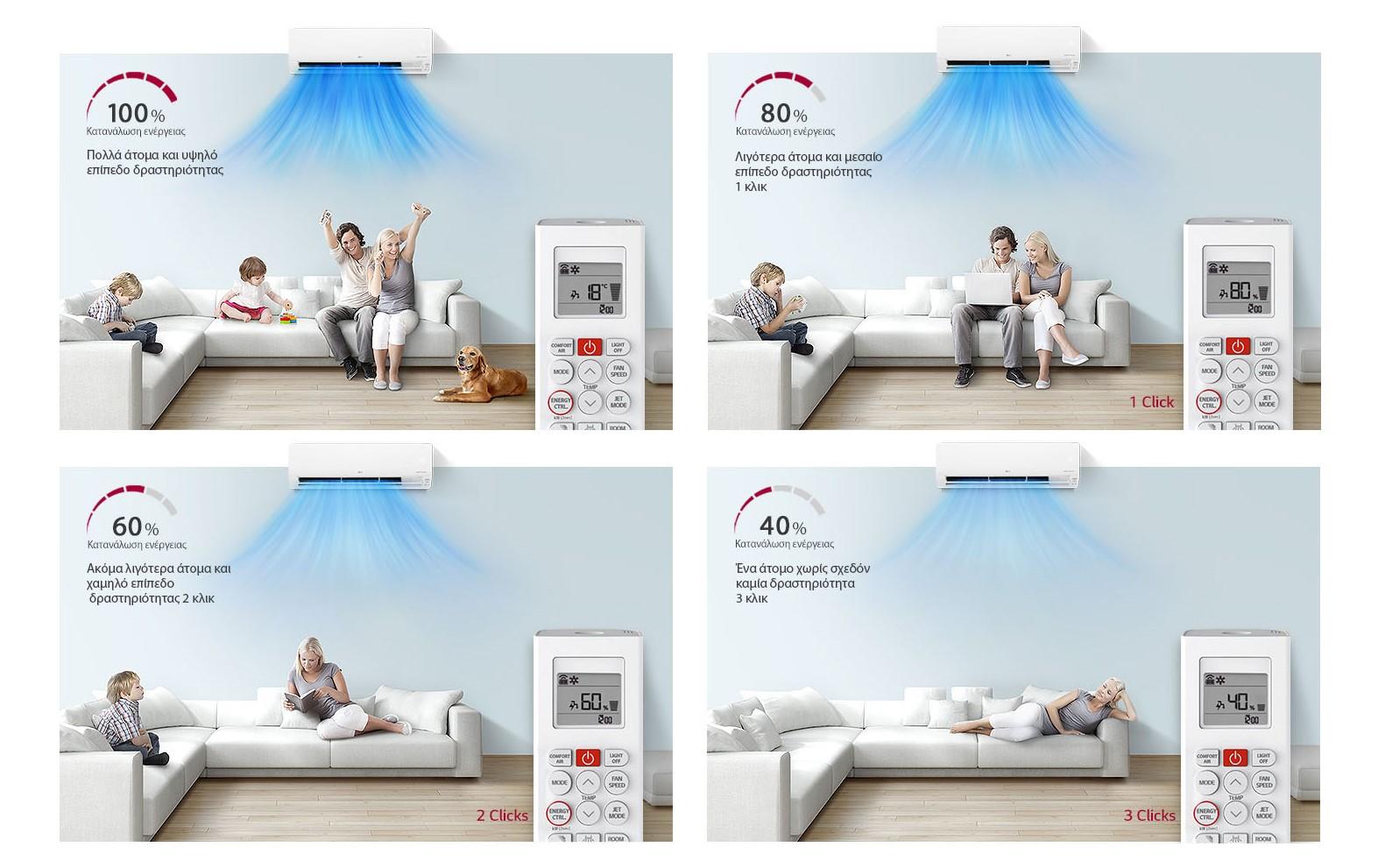 Αναβαθμίστε την ενεργειακή απόδοση του σπιτιού σας με τις οικιακές συσκευές της LG