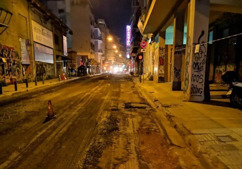 Συνεχίζονται οι ασφαλτοστρώσεις δρόμων του Δήμου Αθηναίων
