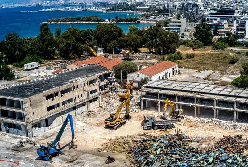Ξεκίνησαν οι εργασίες για την επένδυση στο Ελληνικό