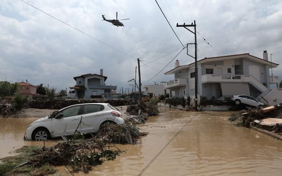 ΥΠΟΙΚ: Αποζημιώσεις για τη φυσική καταστροφή στην Ευβοια