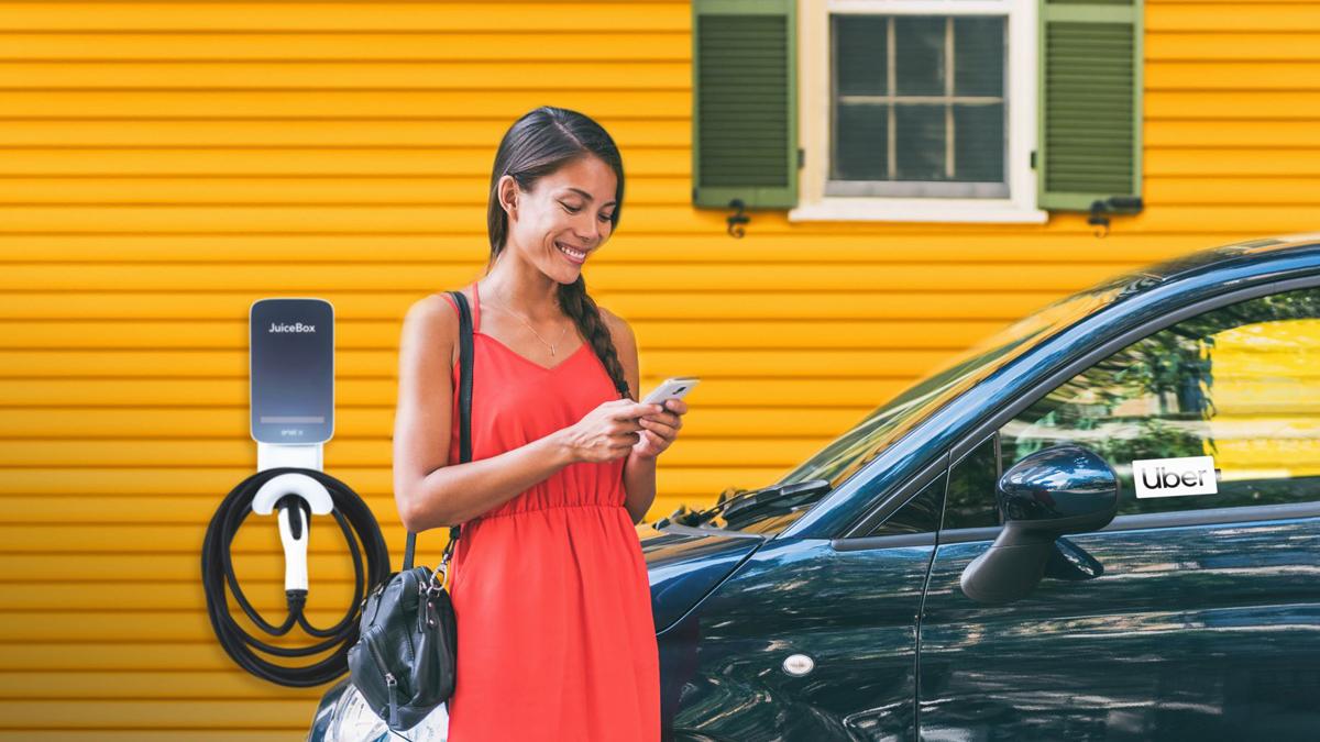 JuiceEco: Συνεργασία Enel X με Uber για την προώθηση της «καθαρής» οδηγήσης
