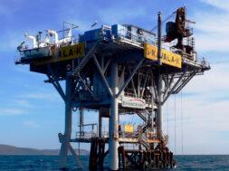 Η εξέδρα Κάππα στο κοίτασμα φυσικού αερίου της Νότιας Καβάλας