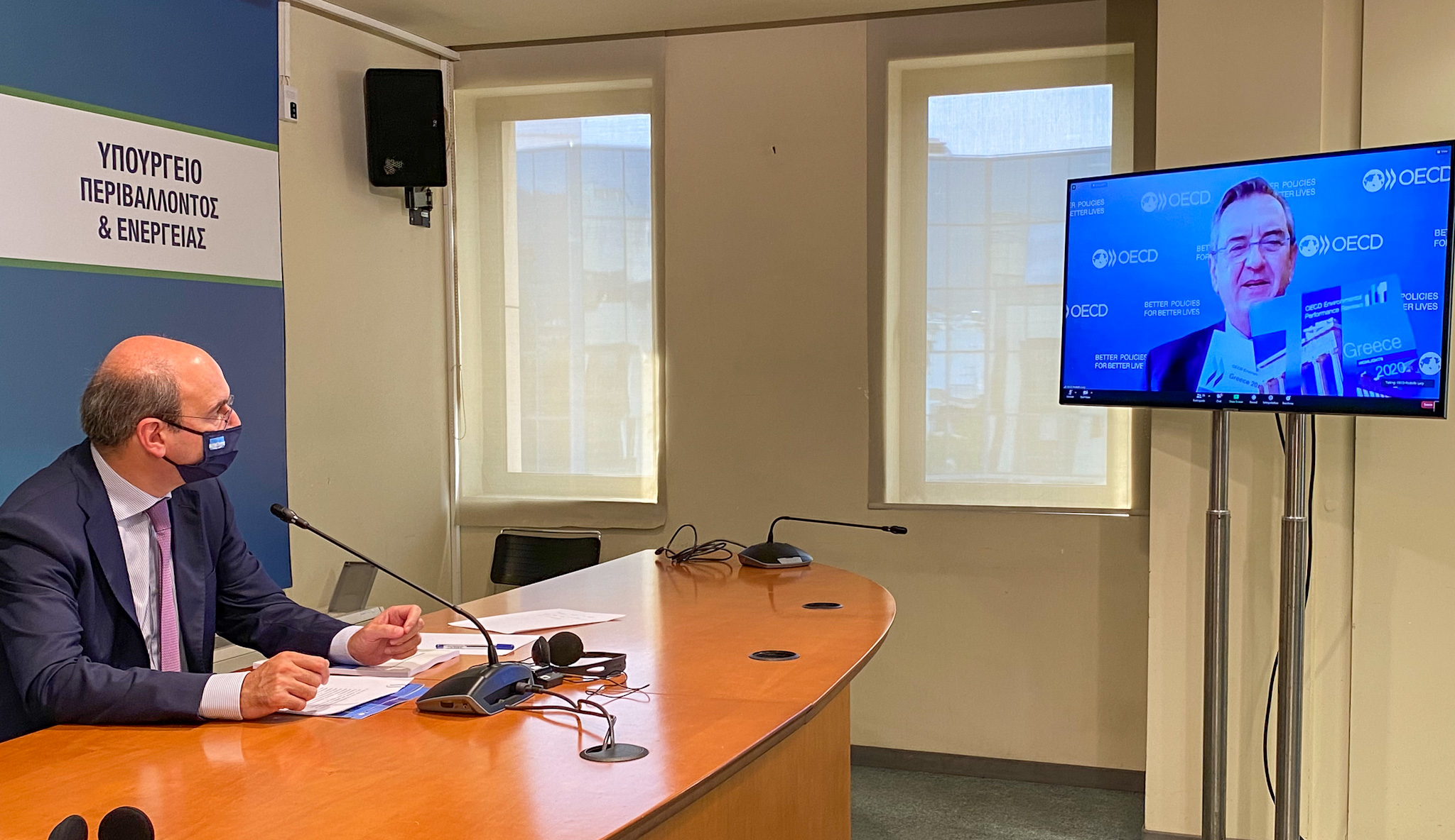 Κ. Χατζηδάκης: Ευρωπαϊκά κονδύλια άνω των 10 δισ. ευρώ για «πράσινες» δράσεις