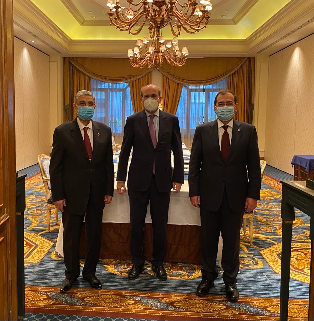 Συνάντηση Κωστή Χατζηδάκη με τον Πρόεδρο της Αιγύπτου Abdel Fattah el Sissi