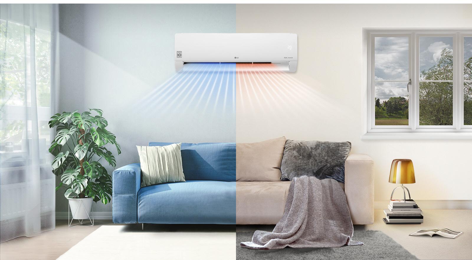 Τέσσερις λόγοι για να επιλέξετε κλιματιστικά LG Dual Cool φέτος τον χειμώνα