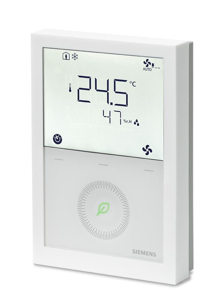 Νέα σειρά θερμοστατών της Siemens που επικοινωνούν και εξοικονομούν ενέργεια