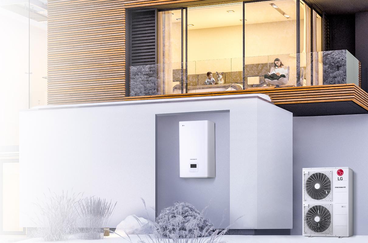 Η LG λανσάρει τη νέα αντλία θερμότητας THERMA V HYDROSPLIT, την ιδανική και ασφαλής λύση θέρμανσης για κατοικίες