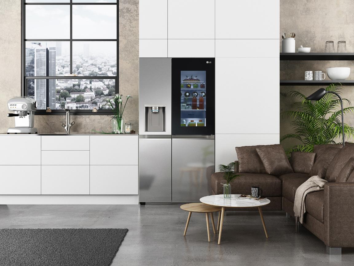 Η LG παρουσιάζει στην CES 2021 το νέο ψυγείο LG InstaView®