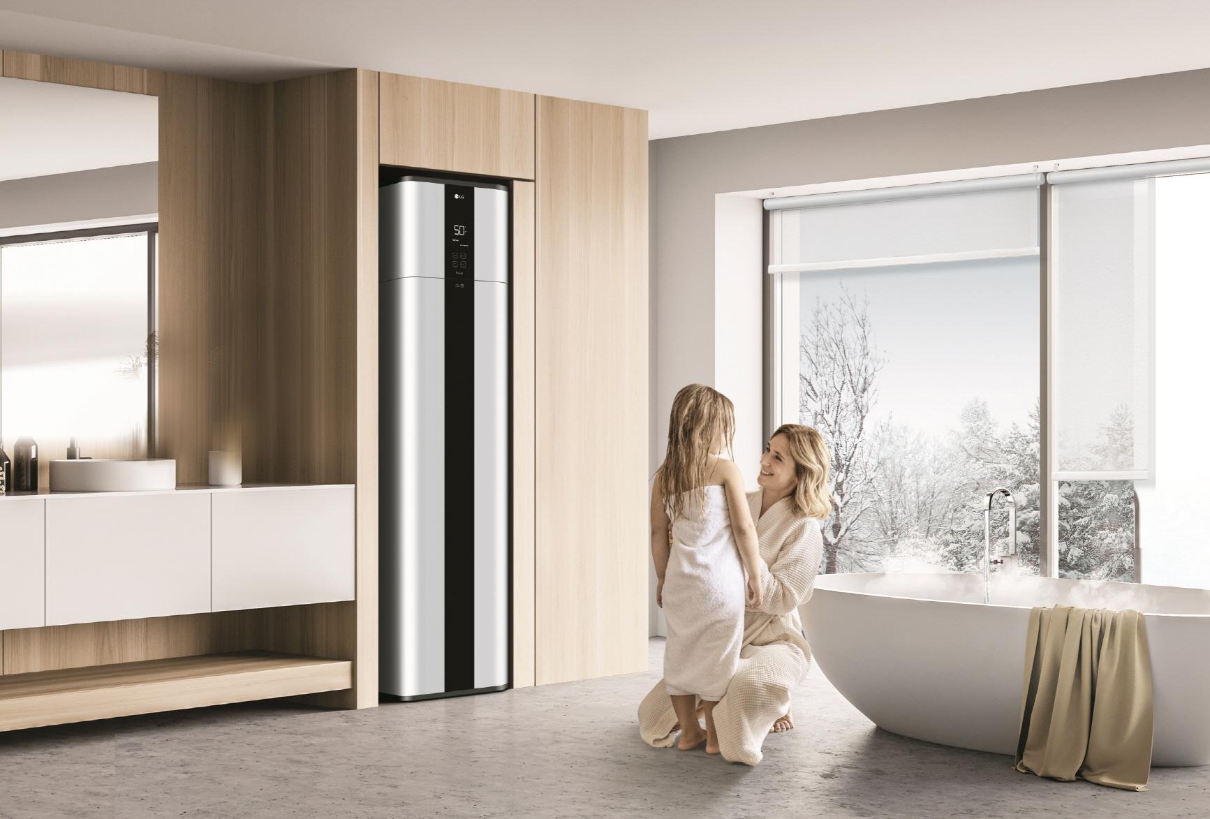 Η LG παρουσιάζει το νέο LG Inverter Pump Heater Water Heater