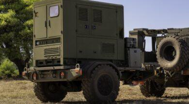 Trailer Mounted Tactical HGT20K Hybrid Generator