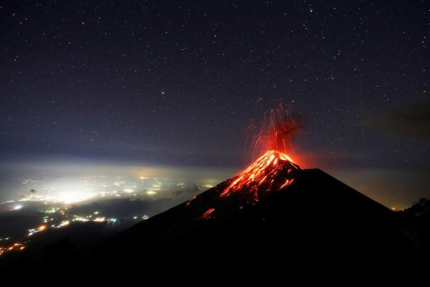 Γουατεμάλα: Σε φάση έκρηξης το ηφαίστειο Φουέγο