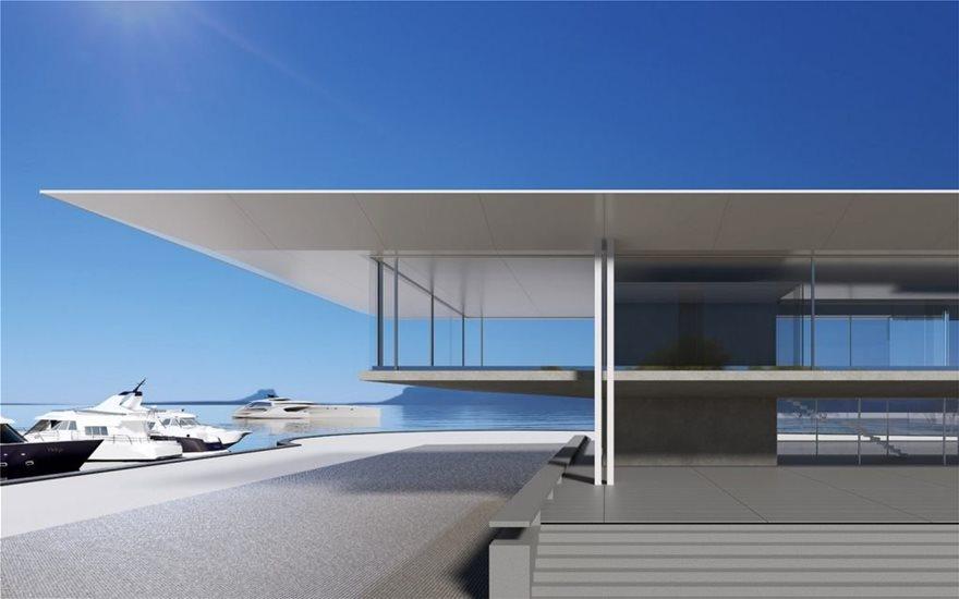 Εγκρίθηκε η ανάπλαση του πρώτου κτίριου στο Ελληνικό – Hellinikon Sales Center