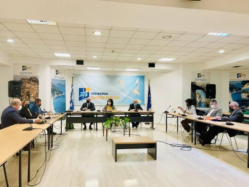 Επίσκεψη Γιώργου Αμυρά σε Κέρκυρα και Διαπόντια νησιά για τους δασικούς χάρτες