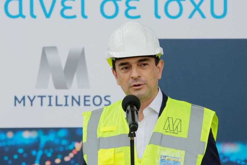 MYTILINEOS: Ολοκληρώνεται η νέα μονάδα φυσικού αερίου στην Βoιωτία