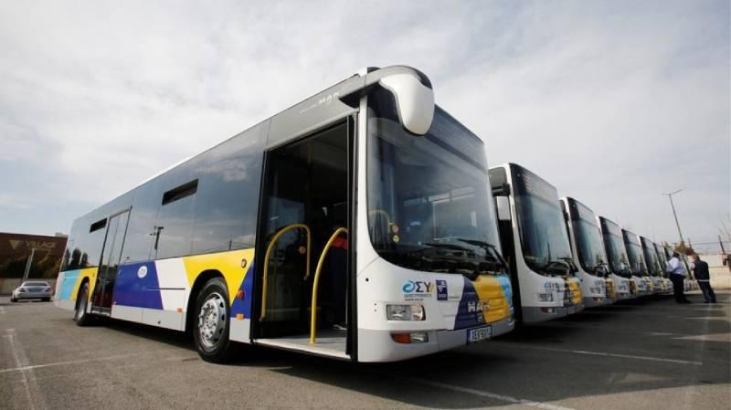 Στους δρόμους της Αθήνας τα πρώτα λεωφορεία με leasing