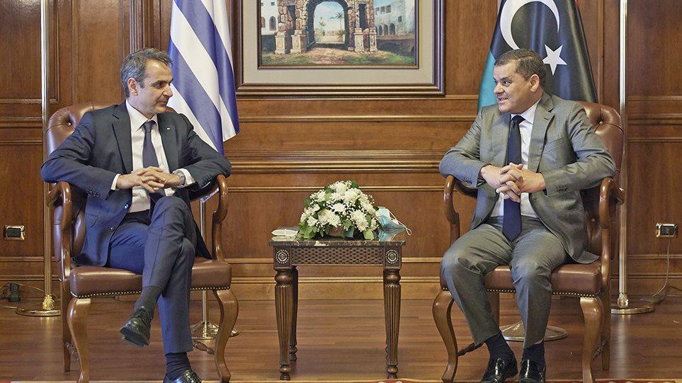 Μητσοτάκης: Ενεργειακή συνεργασία με την Λιβύη