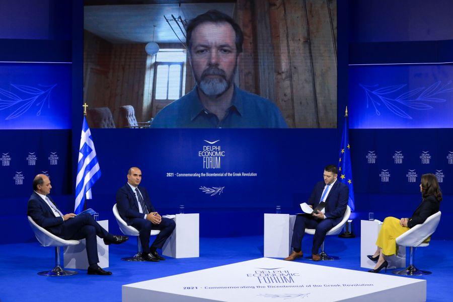 Προώθηση της ψηφιακής οικονομίας με πράσινη ανάπτυξη και μπλε οικονομία