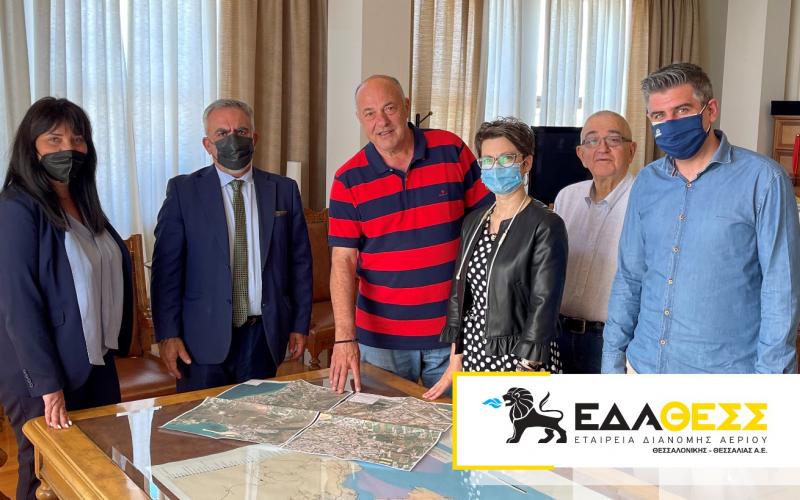 ΕΔΑ ΘΕΣΣ: Μεγάλες επενδύσεις ύψους 10 εκ.€ στον Δήμο Βόλου