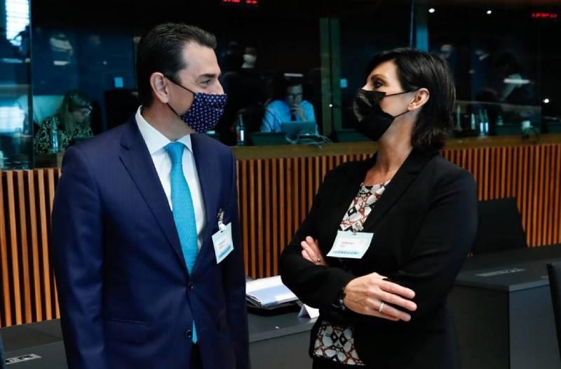Ο Κώστας Σκρέκας στη Σύνοδο του Συμβουλίου Υπουργών Περιβάλλοντος της Ευρωπαϊκής Ένωσης