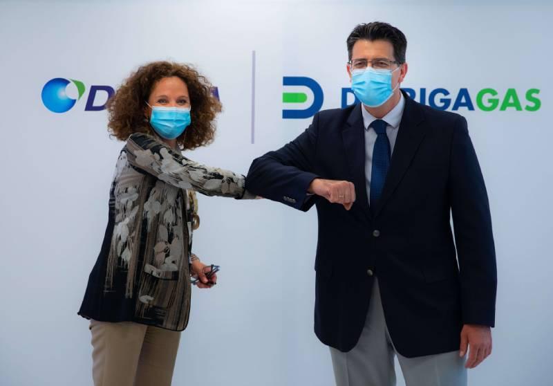 Υπογραφή  Σύμβασης Δέσμευσης μεταξύ ΔΕΣΦΑ και Διώρυγα Gas
