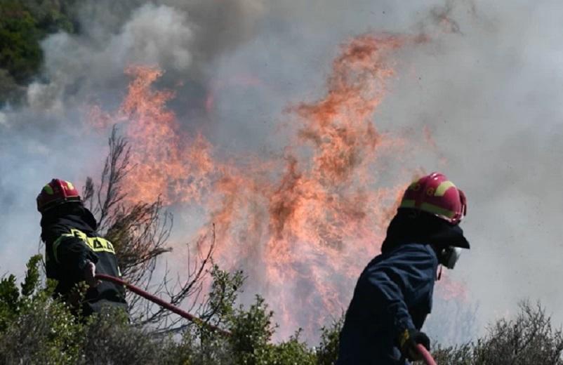 Πολύ υψηλός κίνδυνος πυρκαγιάς για 4 περιφέρειες