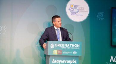 Κωνσταντίνος Αραβώσης, Γενικός Γραμματέας Φυσικού Περιβάλλοντος και Υδάτων_Βραβεία Greenathon
