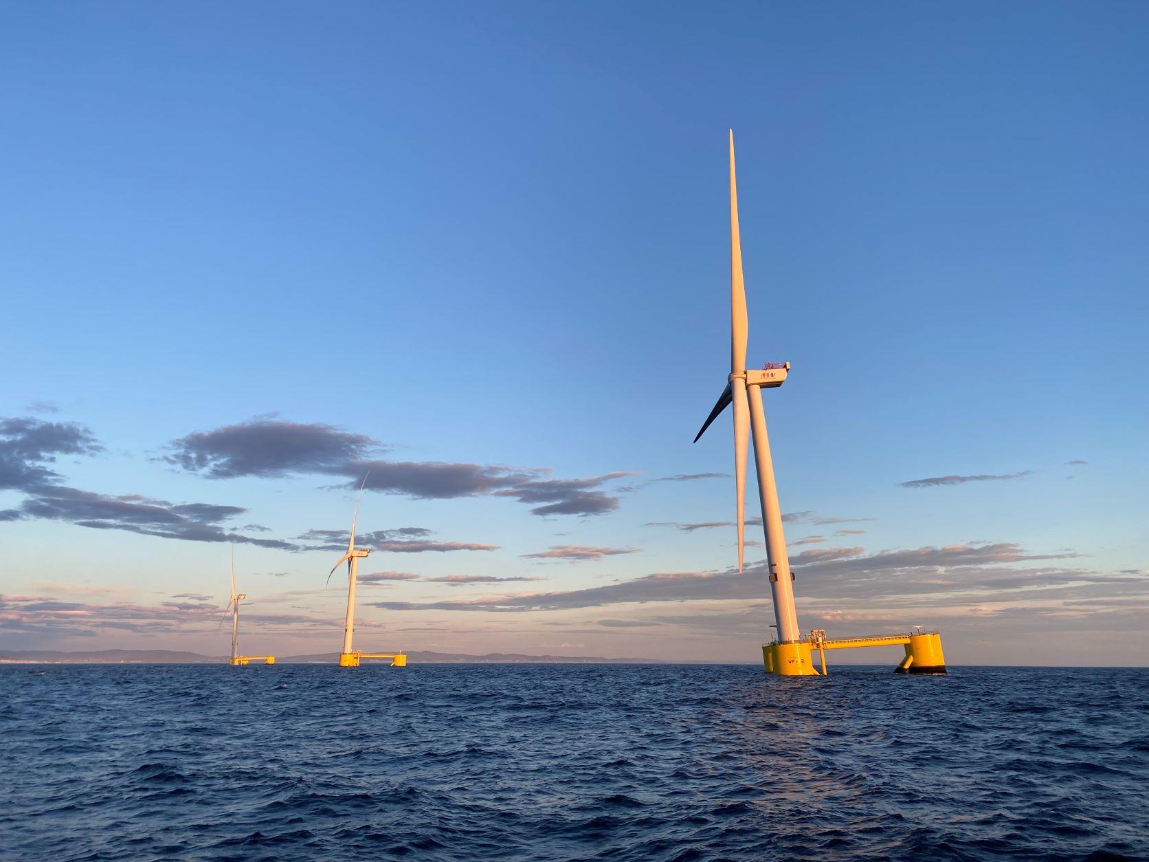 Το πλωτό αιολικό πάρκο Wind Float Atlantic ξεπέρασε τις 75 GWh κατά το πρώτο έτος λειτουργίας του