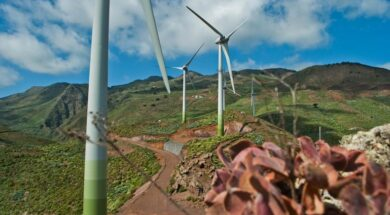 © El Hierro – Remote islands are going green, establishing energy independency that relies on their abundant renewable energy resources including sun, wind and biomass.