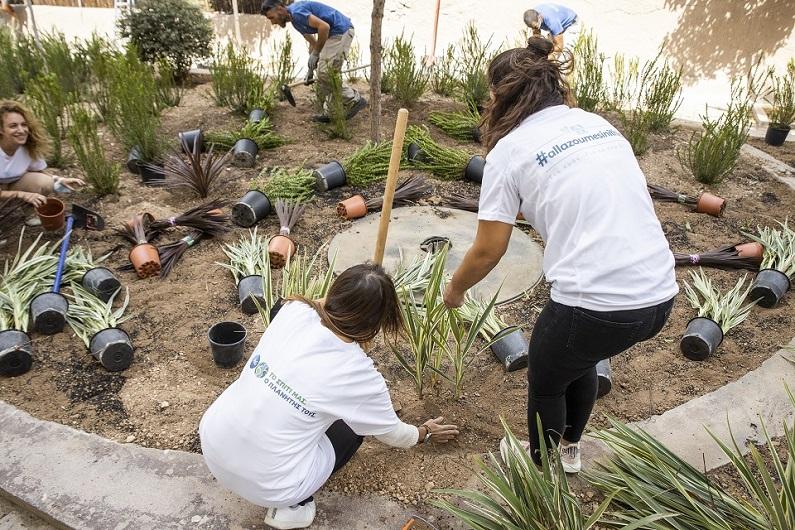 Μια ακόμα γειτονιά στην Αθήνα πρασινίζει με το νέο Πάρκο Τσέπης στα Πετράλωνα